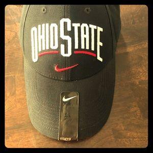 Ohio State Nike hat.